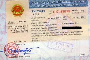 Виза за Виетнам